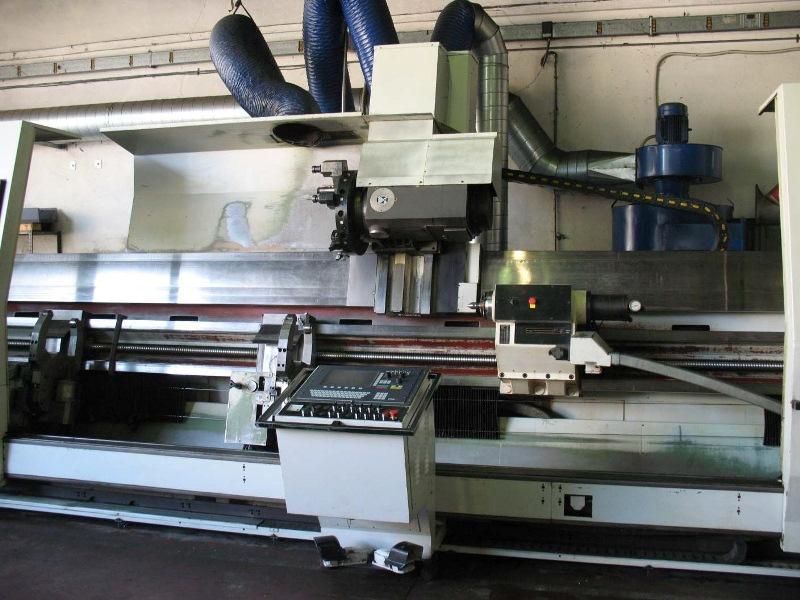 TORNIO UTITA MOD. T 500/CN usato - MACHINES TOOLS by ...