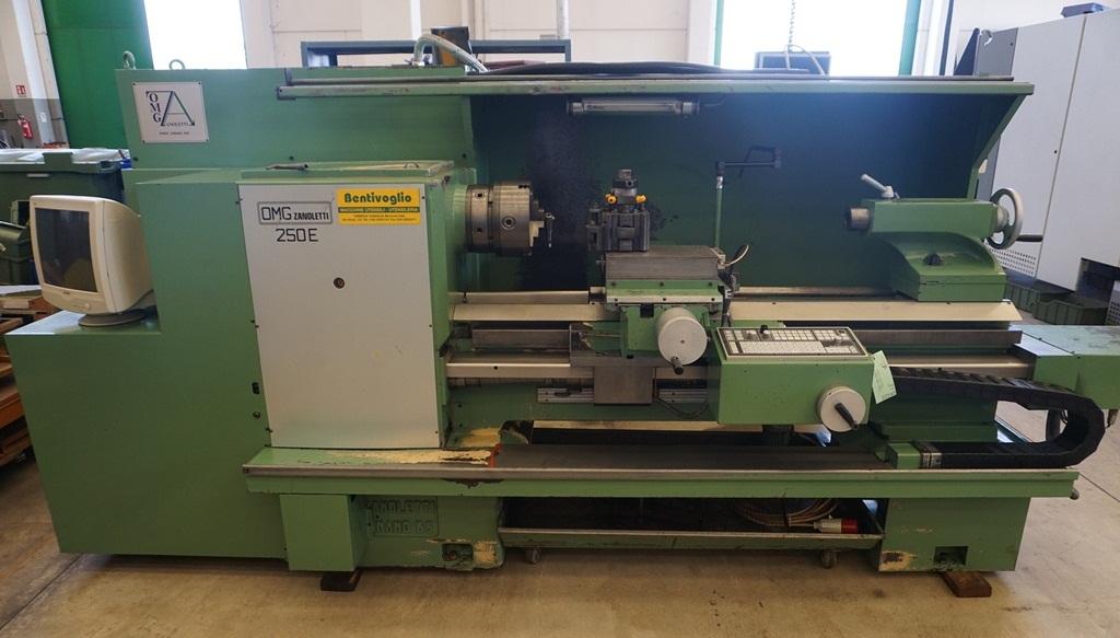 Tornio omg zanoletti usato machines tools by bentivoglio for Tornio omg zanoletti usato